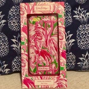 NEW Lilly Pulitzer Pink Colony iPhone 6 Case